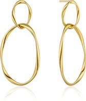 Ania Haie Oorhangers AH E015-02G - Zilver Goldplated