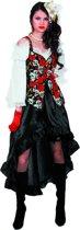 Pirate jurk Black Rose Maat 40