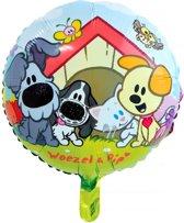 Woezel en Pip Folieballon 46cm