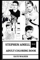 Stephen Amell Adult Coloring Book