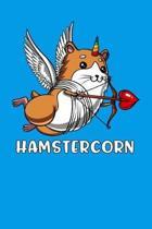 Hamstercorn: Cute Hamster Unicorn Notebook