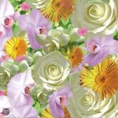 Papstar Springflowers Servetten - 33 x 33 cm - 20 stuks