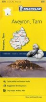 Aveyron, Tarn - Michelin Local Map 338