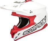 Scorpion Crosshelm VX-15 Evo Air White/Red-XS