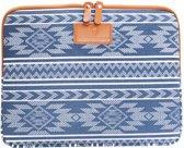 """#DoYourMobile - 15"""" Etui van canvas voor tablet of laptop - Beschermhoes - Draagtas - Design: Azteken"""