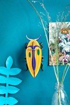 Studio ROOF | 3D wanddecoratie | Klik Kever