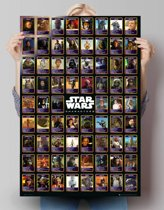 Star Wars compilatie  - Poster 61 x 91.5 cm