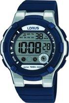 Lorus R2355KX9 - Horloge - Siliconen - Blauw - 40 mm