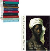 Selfshelf zwevende boekenplank Ceci n'est pas un livre | vrouw crème