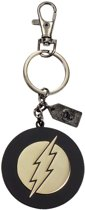 Justice League Metal Keychain The  Flash Golden Logo
