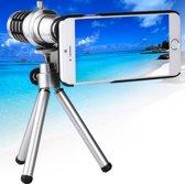 12 x mobiele telelens met statief en telefoon Case voor iPhone 6 Plus