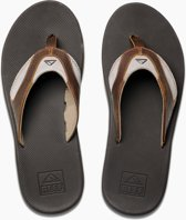 Leather Fanning Heren Slippers