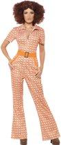 Chique jaren 70 kostuum voor vrouwen  - Verkleedkleding - Large