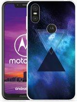 Motorola One Hoesje Space