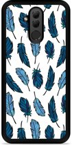 Huawei Mate 20 Lite Hardcase Hoesje Feathers