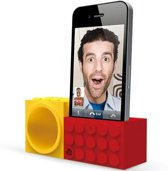 Ozaki, iCarry Facetime Brick Red + Yellow voor iPhone 4 / 4S