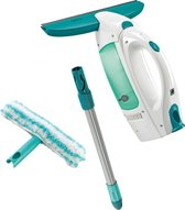 Leifheit Dry & Clean Raamzuiger set - 28cm breedte - Stand-by sensor