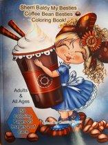 Sherri Baldy My Besties Coffee Bean Besties Coloring Book