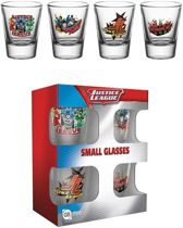 JUSTICE LEAGUE - Shot Glass - Characters