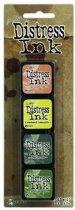 Ranger Distress Mini Ink Kit 10 TDPak40408 Tim Holtz