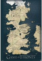GAME OF THRONES - Poster 61X91 - Map