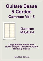 Guitare Basse 5 Cordes Gammes Vol. 5