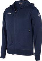 Reece Varsity Hooded Sweater - Sweaters  - blauw donker - 164