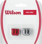 Wilson Dempers - rood/zilver/zwart