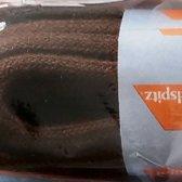 4.5 mm x 150 cm - Rond bruin - Schoenveter - Rond Dik