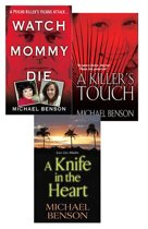 Omslag van 'Michael Benson's True Crime Bundle: Watch Mommy Die, A Killer's Touch & A Knife In The Heart'