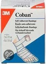 Coban Action Wrap Zwachtel - Wit  - Verband