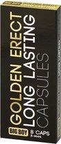Big Boy Golden Erectie Tabletten - 8 tabletten