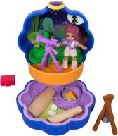 Polly Pocket Tiny Pocket Places Shani's Camping Avontuur - Speelfigurenset