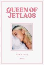 Boek cover Queen of Jetlags van Noor de Groot (Hardcover)