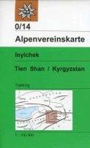 DAV Alpenvereinskarte 0/14 Inylchek - Tienschan-West / Kyrgyzstan 1 : 100 000