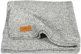 Jollein Stonewashed knit Deken 75x100 cm Grey