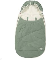 Lodger voetenzak maxi-cosi Mini Bunker Fleece groen