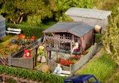 Faller - Volkstuin met tuinhuisje