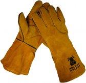 SET à 2 PAAR LASHANDSCHOEN - Houtkachel handschoen - Barbecue handschoen - BBQ handschoen maat 10 - hittebestendig.