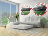 Fotobehang Voetbal | Groen |