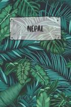 Nepal: Ruled Travel Diary Notebook or Journey Journal - Lined Trip Pocketbook for Men and Women with Lines