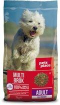 Pets Place Adult - Hondenvoer - Gevogelte&Vlees - 3 kg