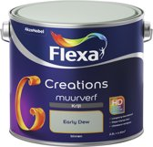 Flexa Creations - Muurverf Krijt - Early Dew - 2,5 liter