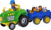 Baby Toys Tractor En Trailer 32cm