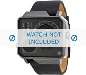 Diesel horlogeband DZ7241 Leder Zwart 28mm