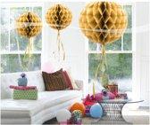 Honeycomb Goud 30cm