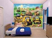 Walltastic Kinderbehang My 1st JCB - kinderkamer - 305 x 244 cm