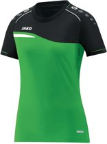 Jako Competition 2.0 Dames T-Shirt - Voetbalshirts  - groen - 44