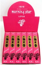 Nippon Kodo Morning Star - Lotus - Japanse wierook - 12-pack - Gratis Verzending!!!