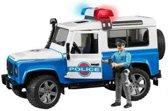 Bruder Land Rover Defender Politie met licht en geluid